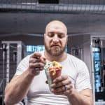 athlete eating ice cream