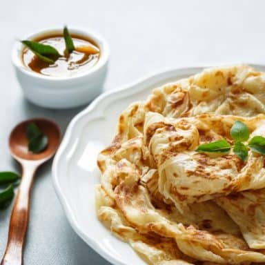 amazing curried chicken crepes