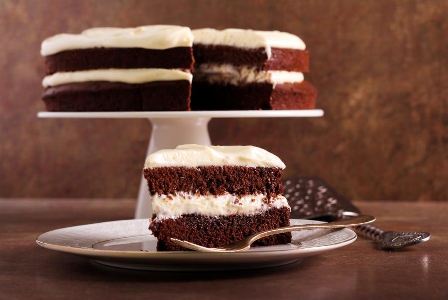 buttercream layer chocolate cake