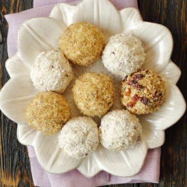 coconut cheesecake bites