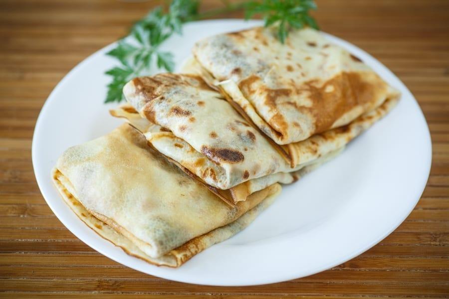 manicotti crepes pasta square alternative