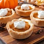 pumpkin pie poppers mini pies