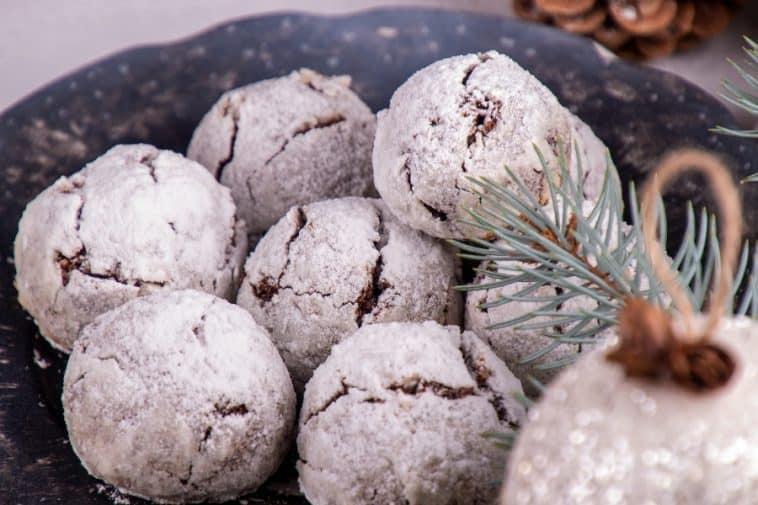 pecan dream cookies on plate