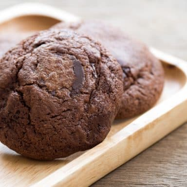gooey chocolate soft top cookie