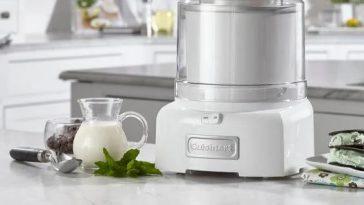cuisinart ice cream maker ice 21 frozen yogurt and sorbet