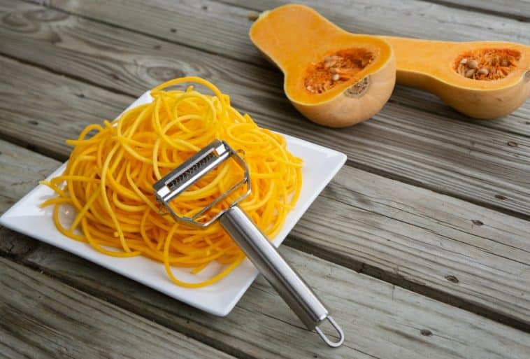 julienne peeler and squash