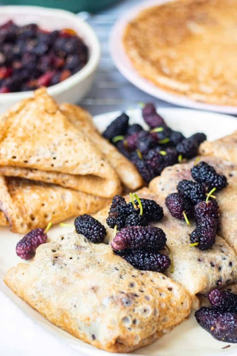 mulberry french vegan crepes