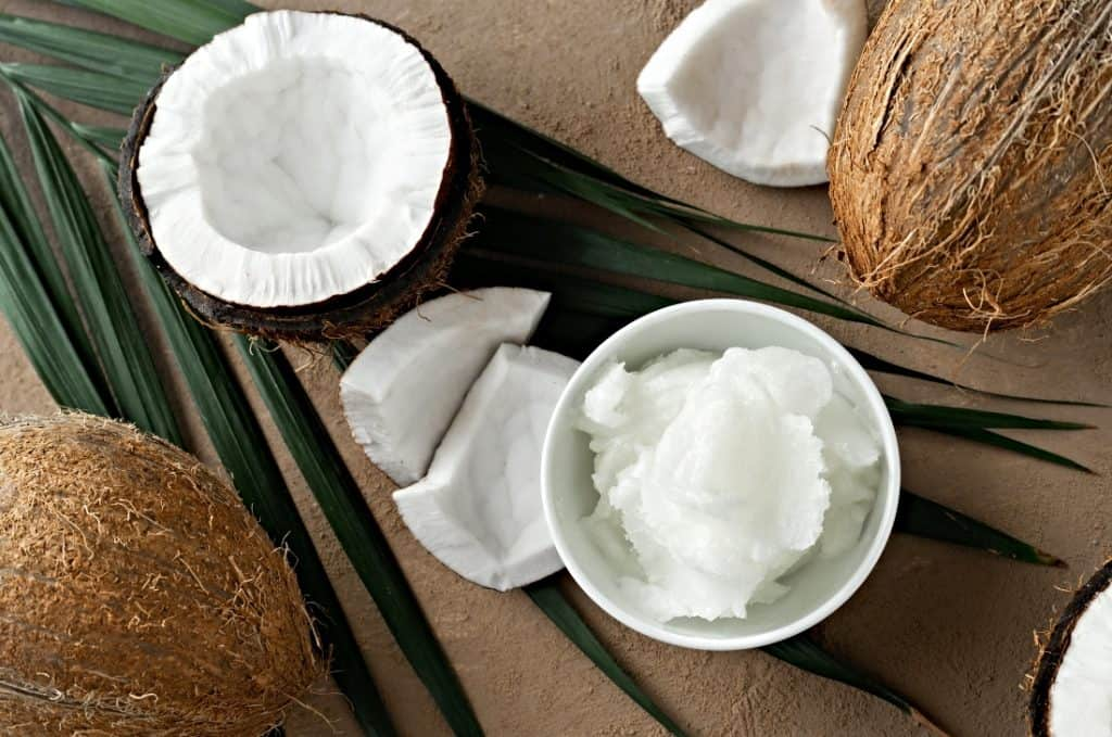 coconut butter in bowl