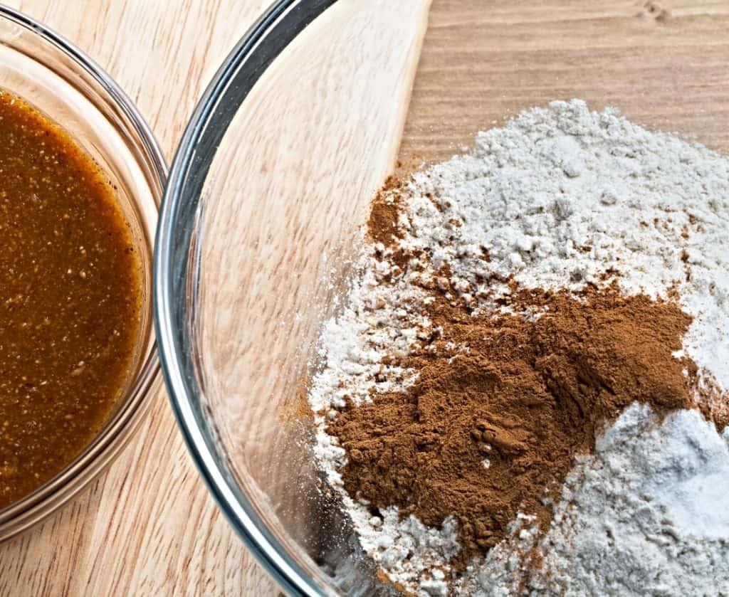arrowroot and cornstarch in bowl