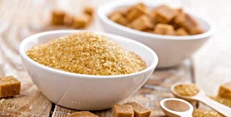 bowl of maple sugar