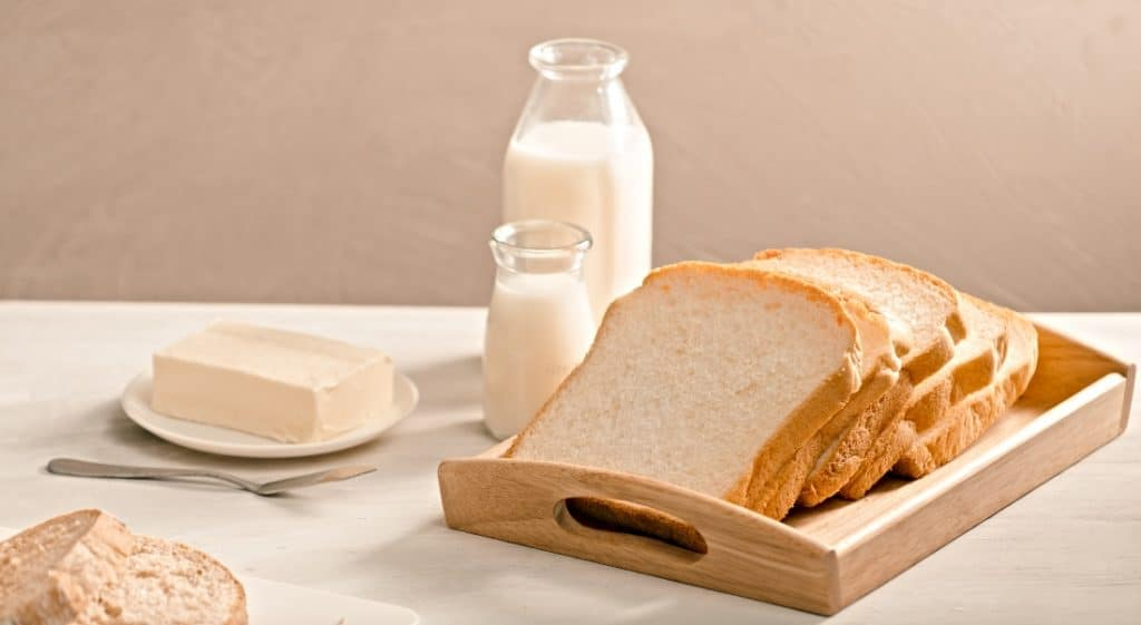 butter milk and bread