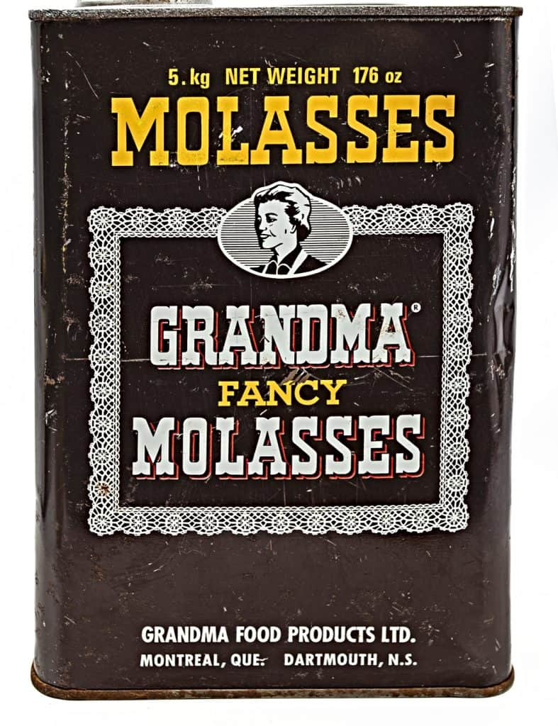 container of molasses