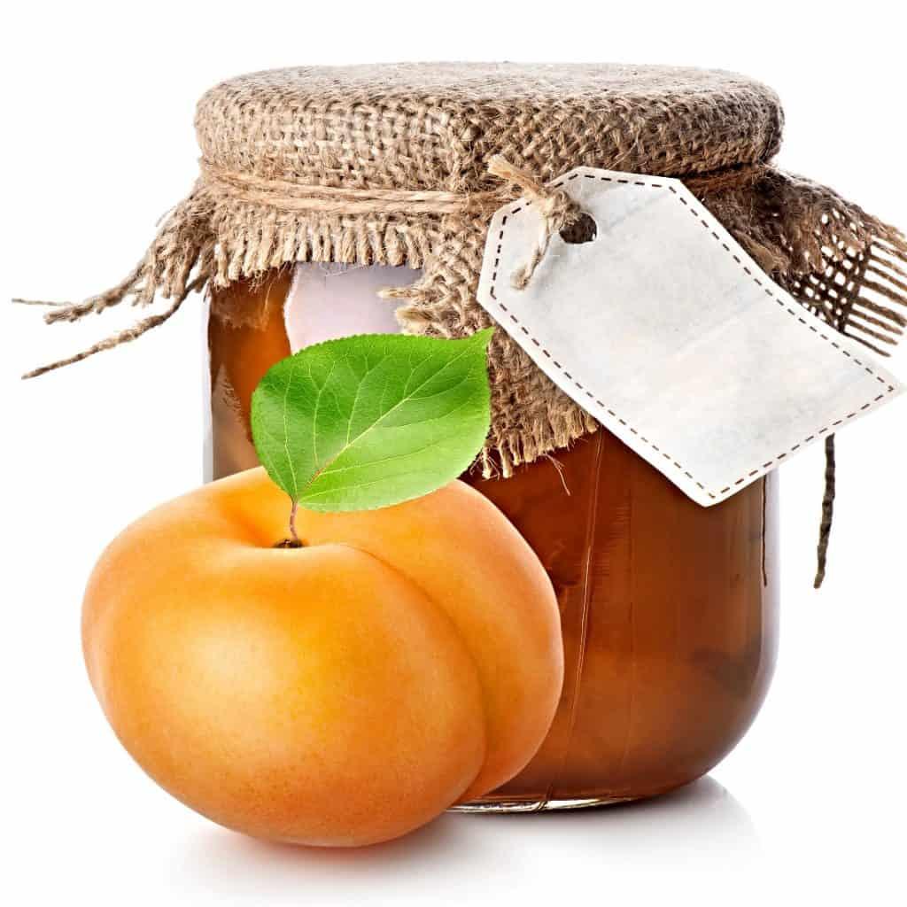 jar of apricot jam