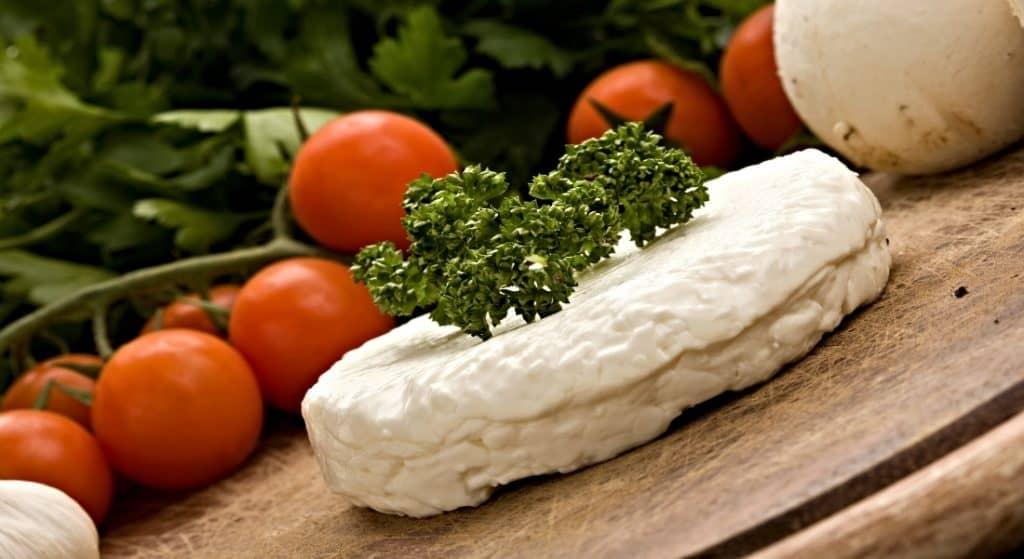 quark cheese and veggies