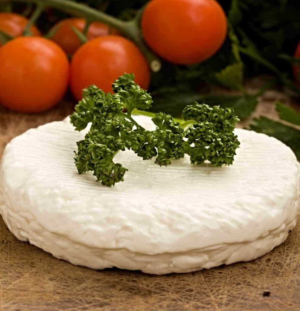 ricotta cheese and veggies