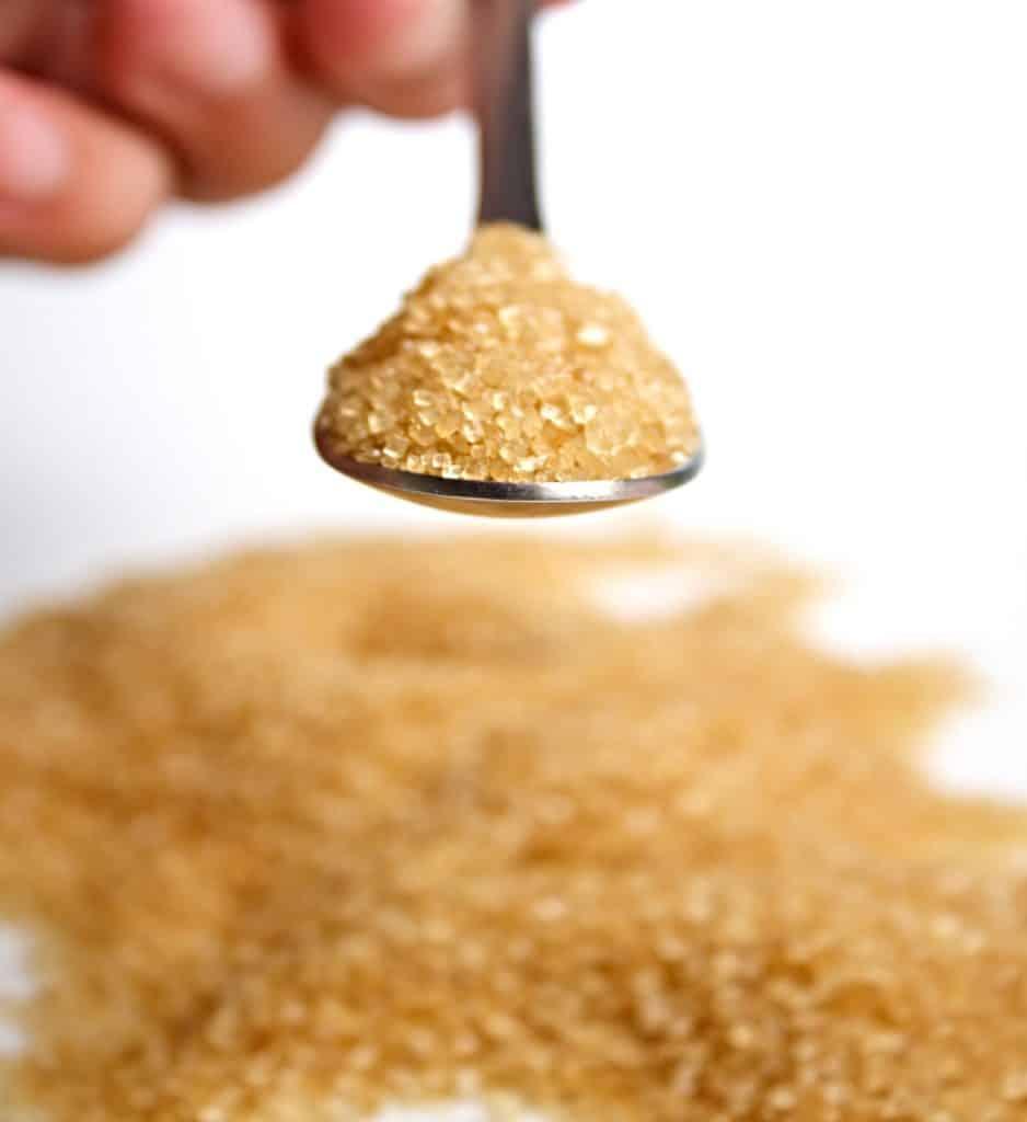 scoop of maple sugar