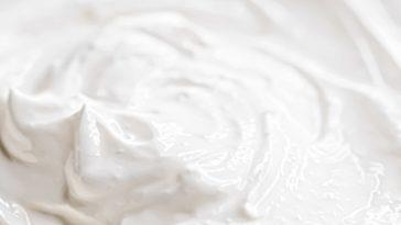 whipped cream swirl