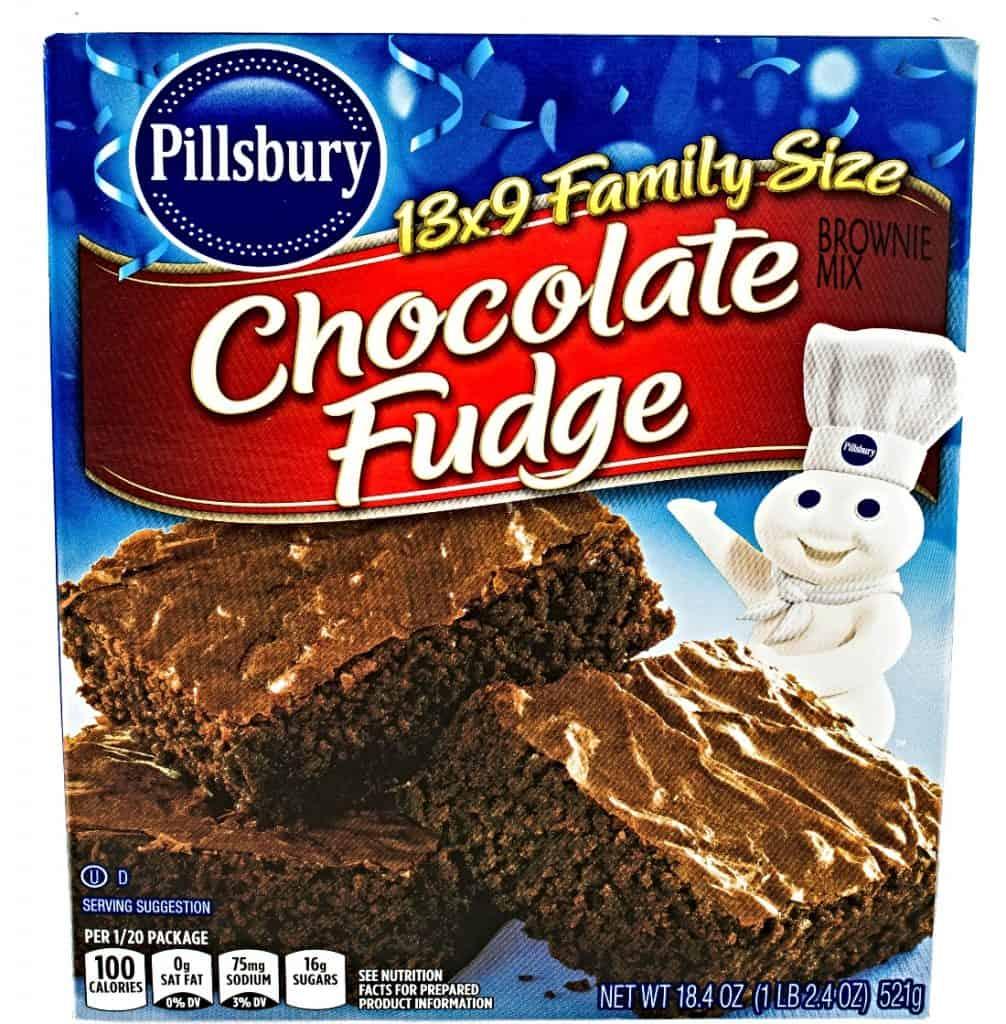 Pillsbury chocolate brownie mix
