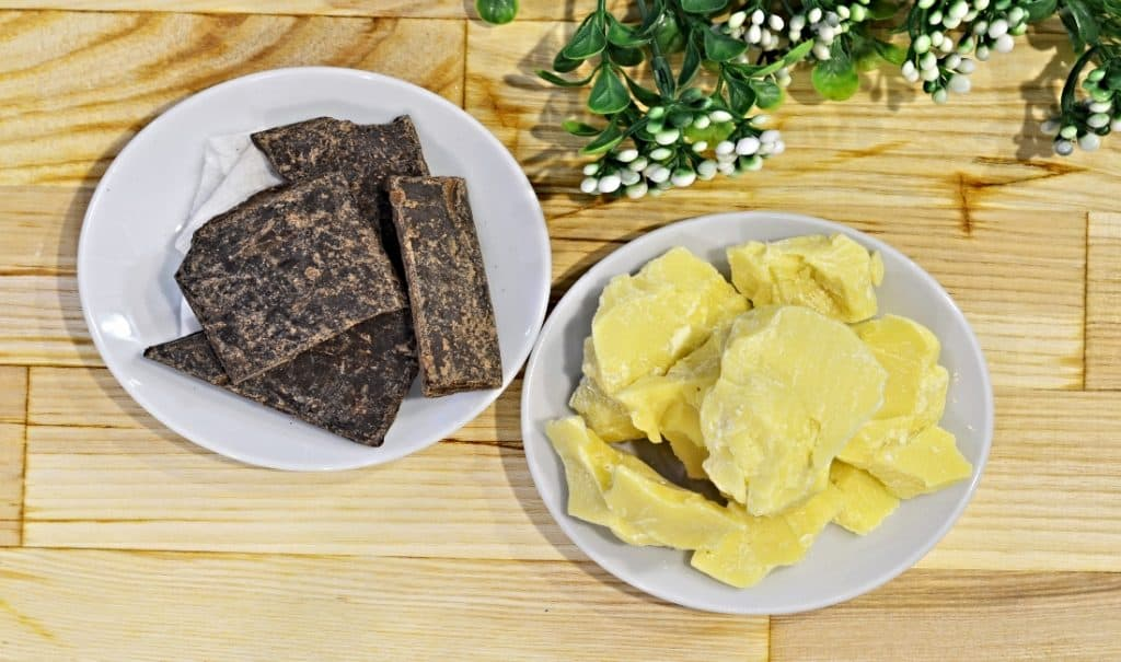 cocoa and cacao butter